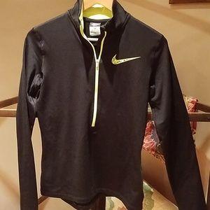 Nike pro dri-fit zip up